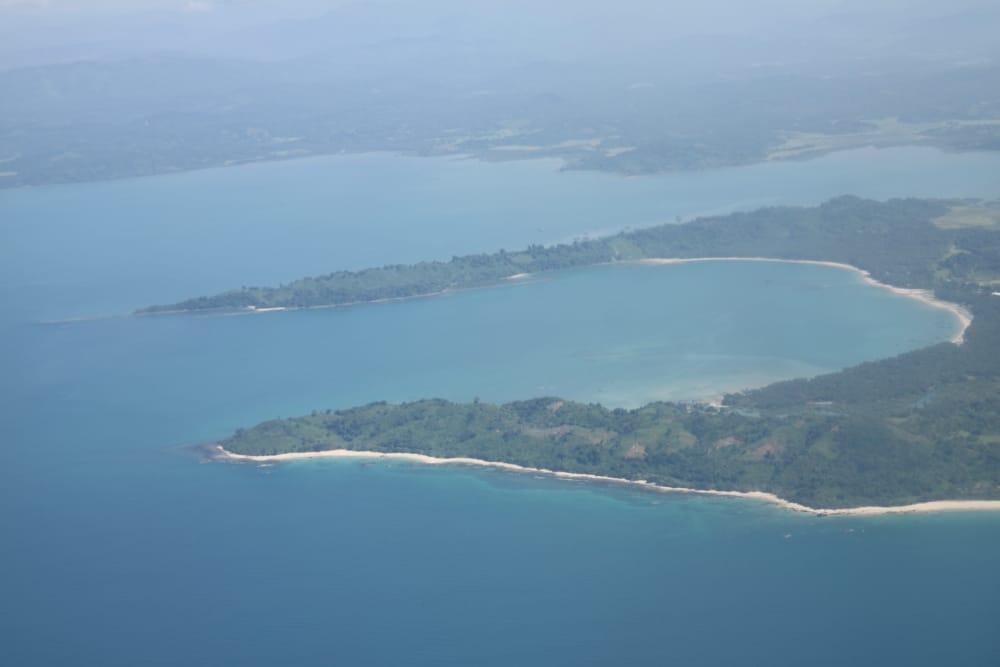 Widok z samolotu w drodze do Sittwe