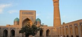 Bukhara Kalon Mosque. Dziedziniec meczetu z XVI wieku.