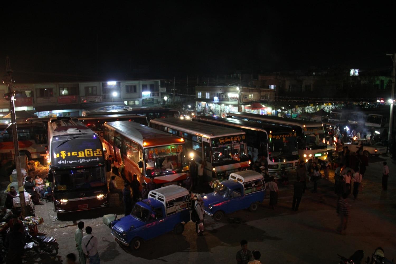 Dworzec autobusowy Mandalay