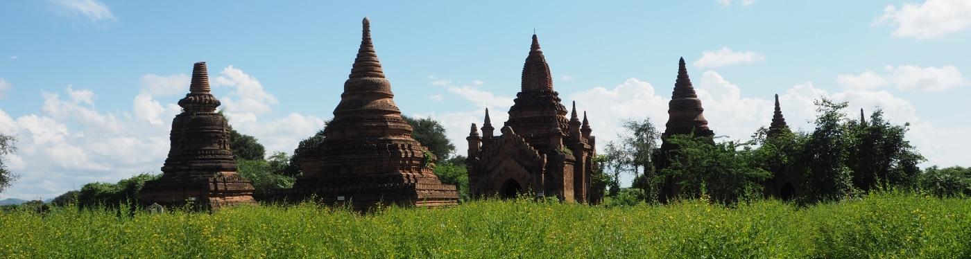 Pagody w Birmie Bagan