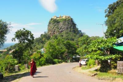 Góra Popa w Birmie