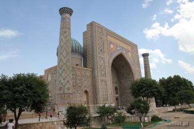 Uzbekistan. Registan w Samarkandzie.