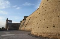 Uzbekistan - Buchara. Forteca - pałąc Arch