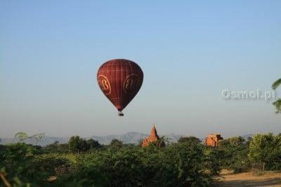 Balon nad Baganem