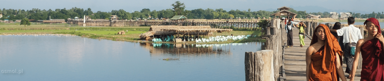 Most tekowy U Bein w Amarapurze
