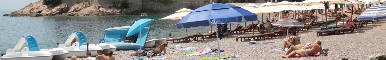 Plaża w Czarnogórze