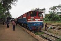 Birma pociąg