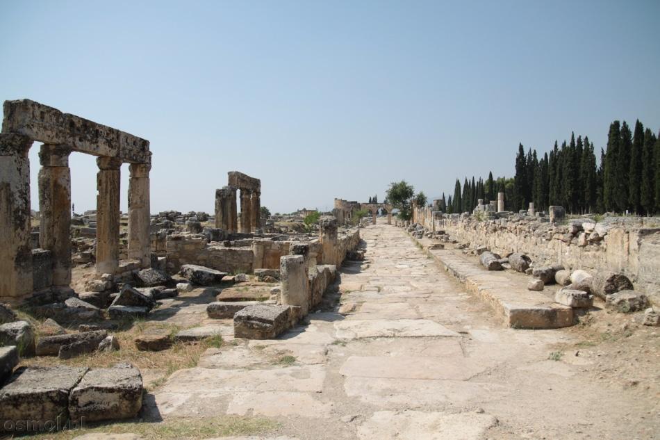 Hierapolis ulica Frontinusa