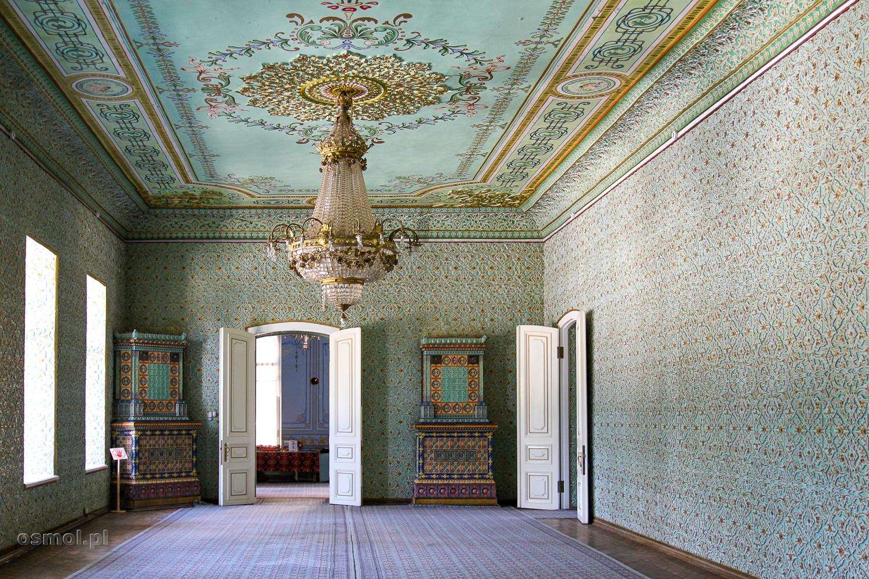 Wnętrze pałacu w Chiwie