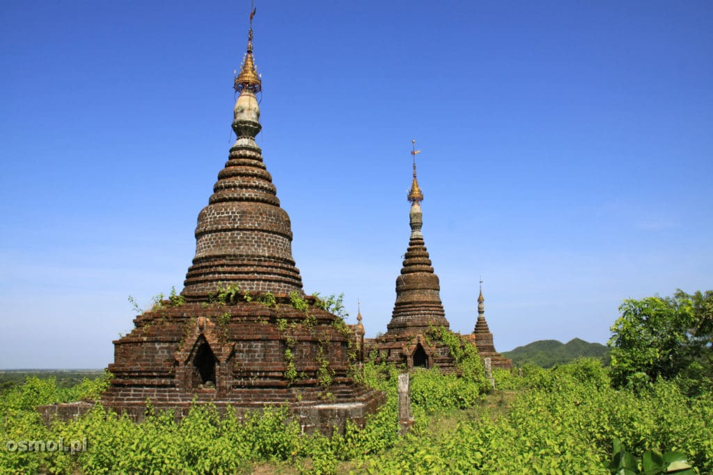 Pagoda w Mrauk U