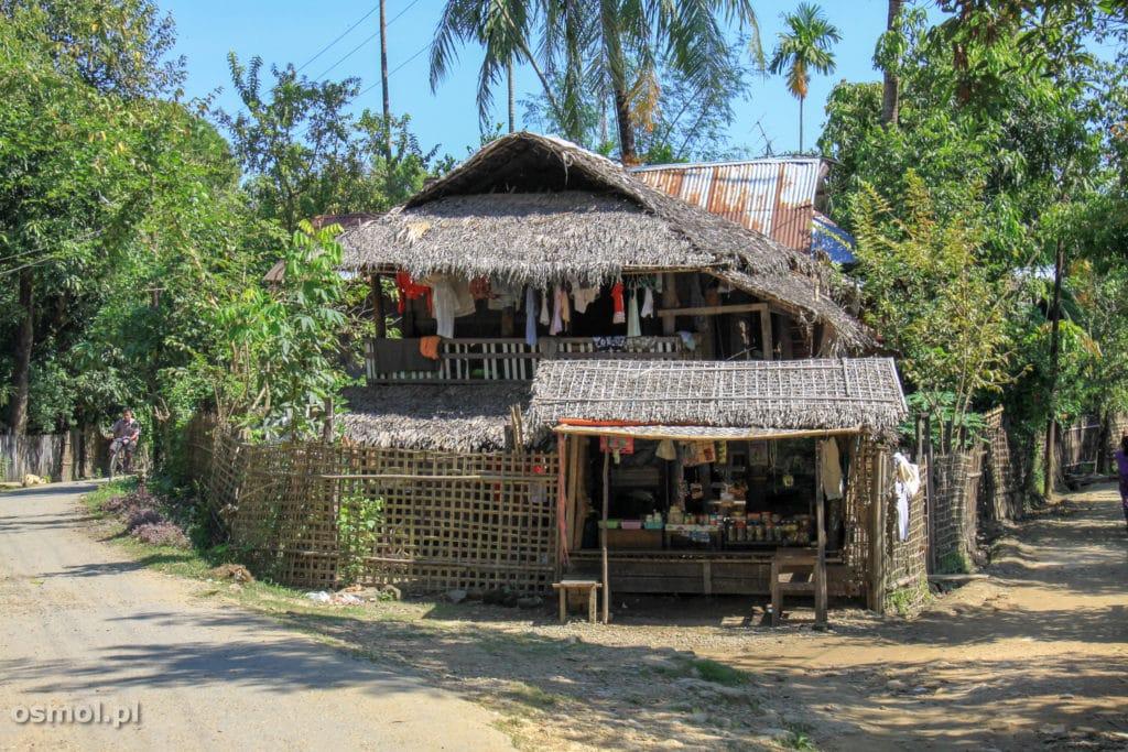 Sklep w Mrauk U Birma