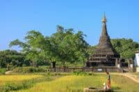 Świątynia w Mrauk U Birma