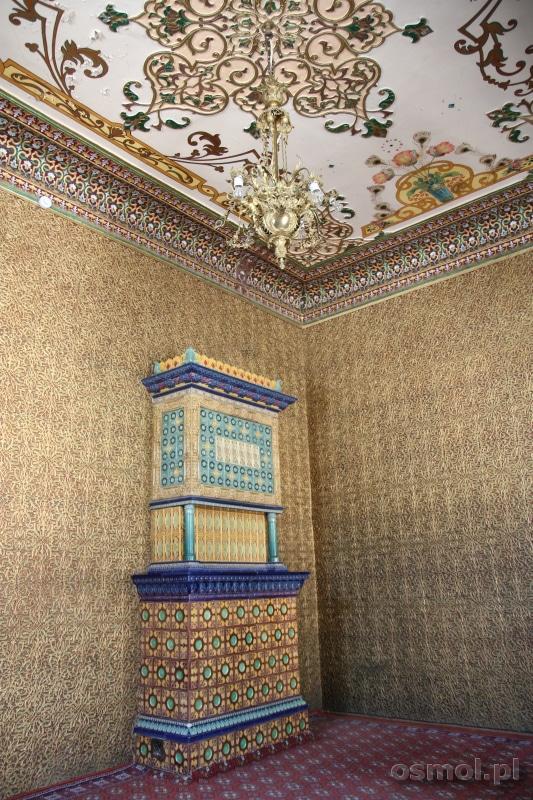 Piękne wnętrza pałacu Isfandiyar