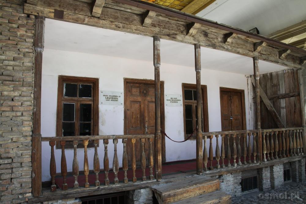 Dom, w którym Stalin spędził pierwsze trzy lata swojego życia