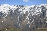 Kaukaz. Gruzińskie góry są urzekająco piękne