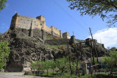 Ruiny zamku w Chertwisi