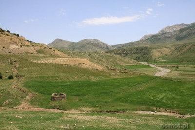 Góry blisko Badab e surt