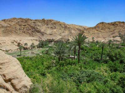 Ezmirgham. Ukryta pośród gór oaza w Iranie