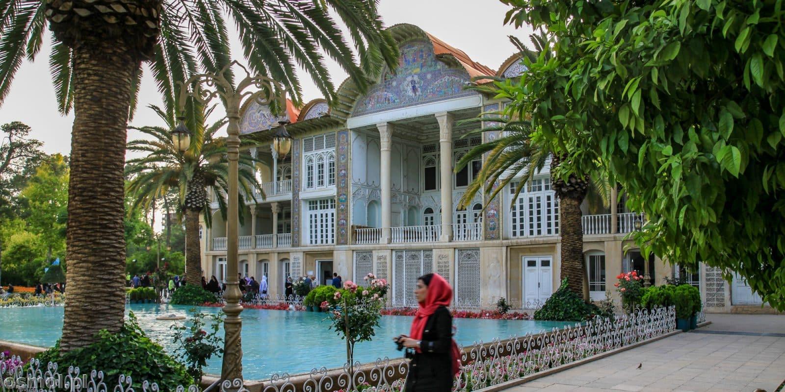 Park Eram w Shiraz