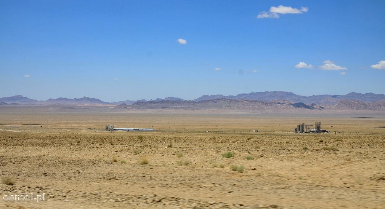 Pustynia w Iranie blisko Tabas