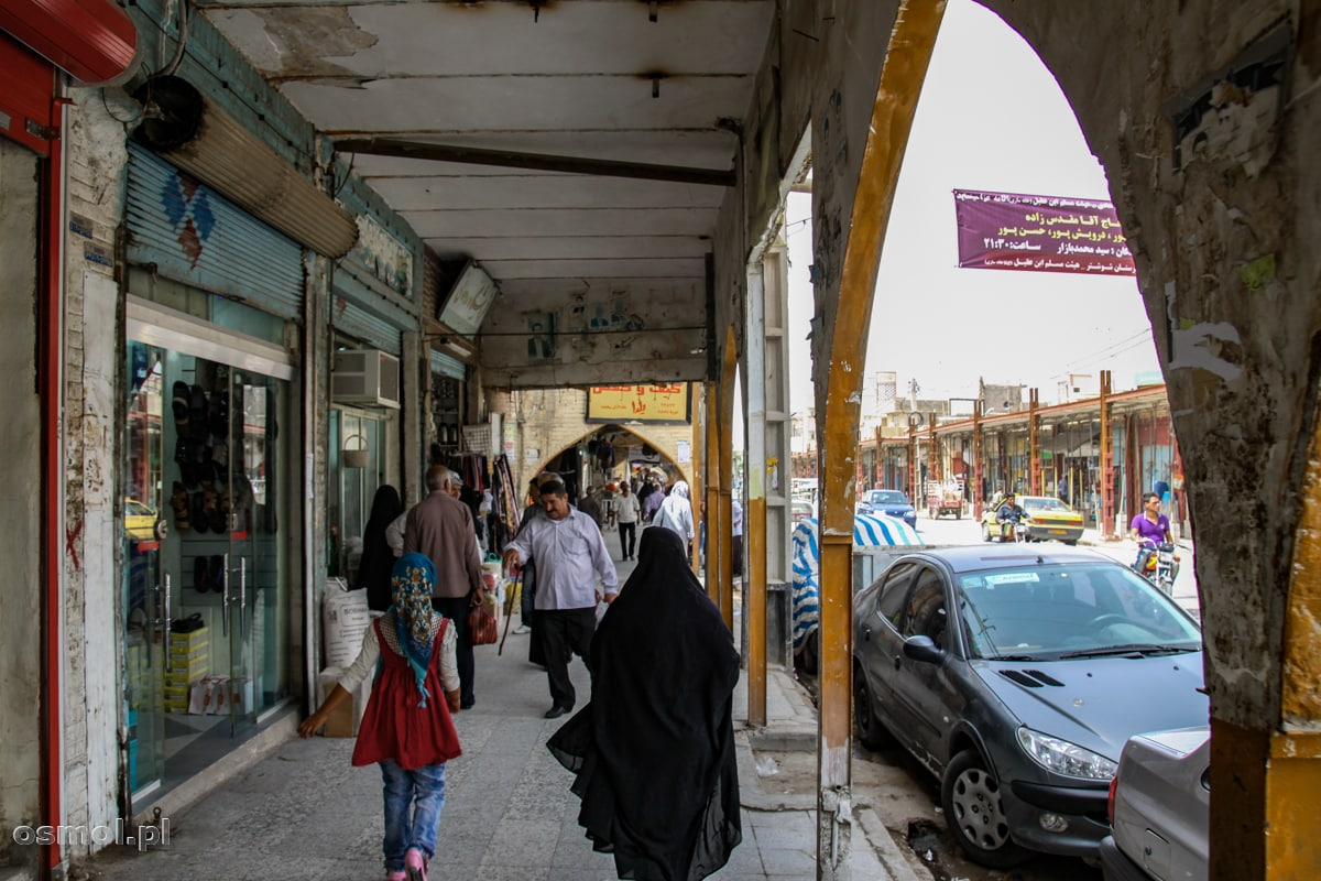 Ulica w Iranie