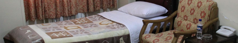 lóżko w hotelu w Iranie