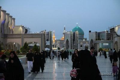 Kompleks gdzie spoczywa Imam Reza w Masshad - IRan