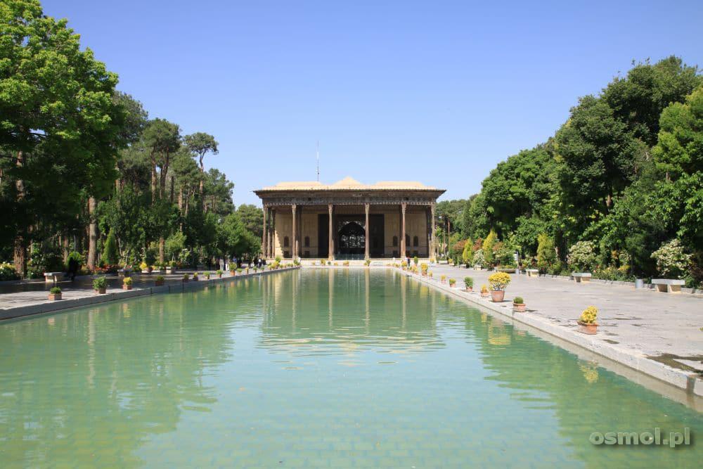 Chehel Sotun w Esfahan - pałac 40 kolumn