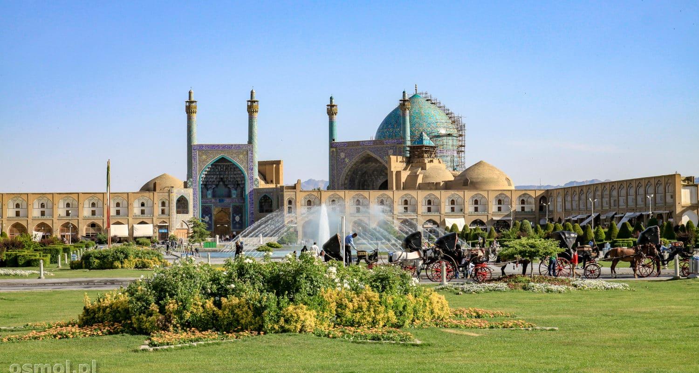Isfahan. Meczet na placu Immama. Naqsh-e Jahan