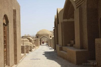 Bam, Arg-e Bam - odbudowana dla turystów uliczka