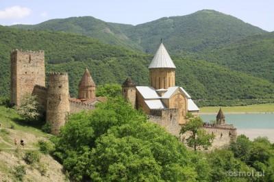 Gruzińska twierdza Ananuri