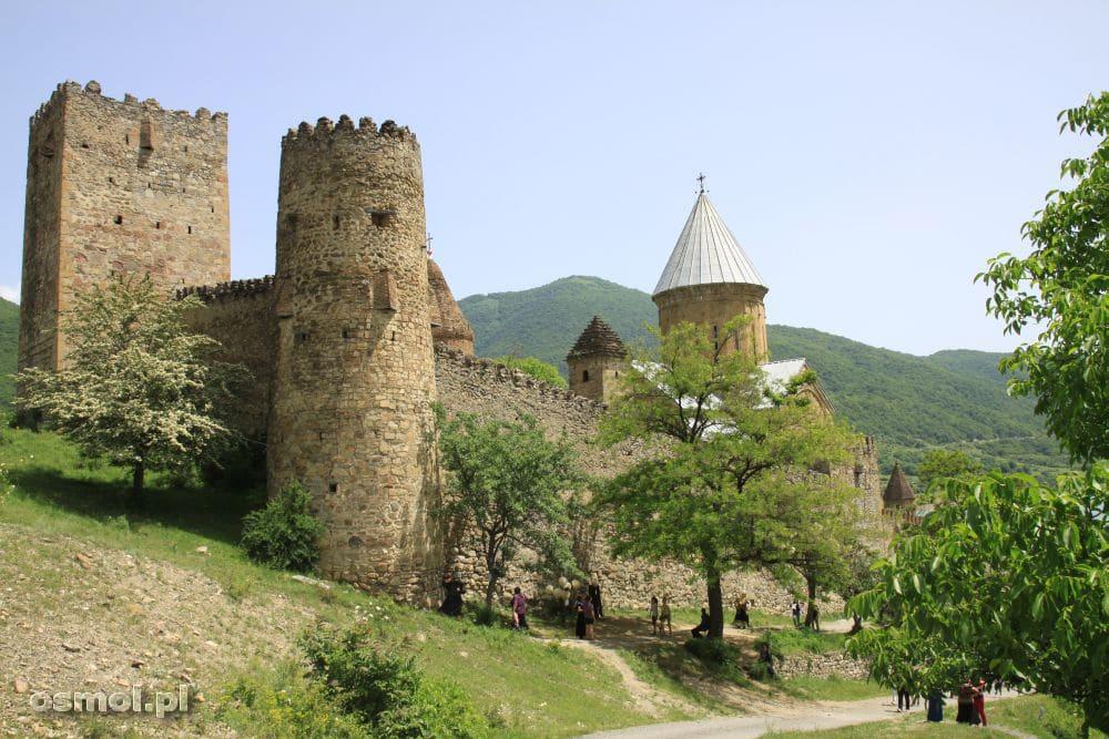 Twierdza Ananuri. Gruzja