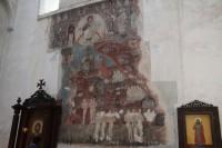 Ananuri - freski w cerkwi