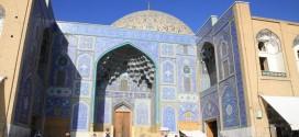 Iran, meczet na placu Imama w Esfahan