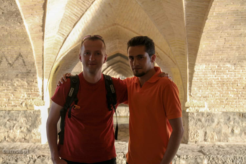 Spotkanie z Irańczykiem pod mostem w Esfahan