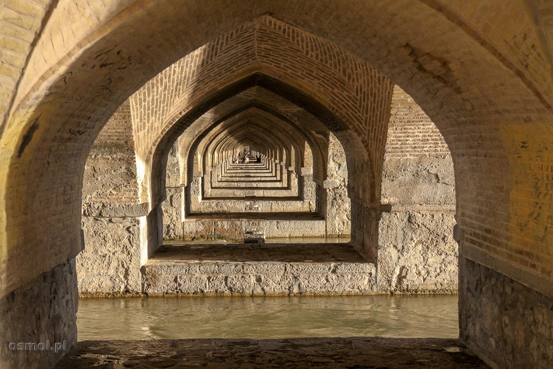 Pod mostem Khaju - Isfahan