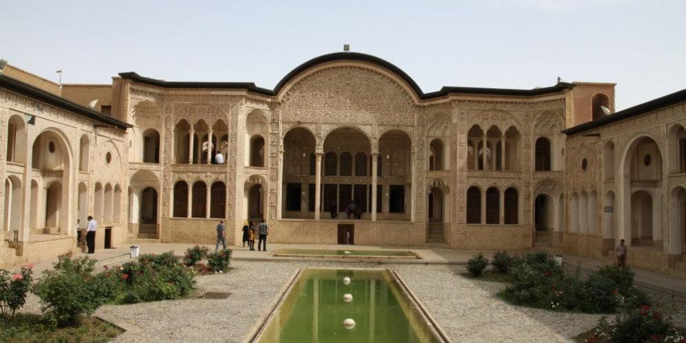 Kashan Iran. Pałac Khan-e-Tabatabei