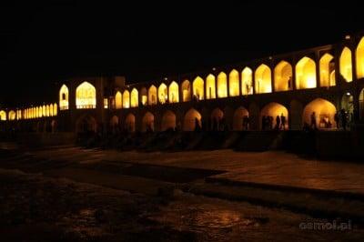 Most Khaju. Duma Esfahańczyków, jeden z symboli Iranu