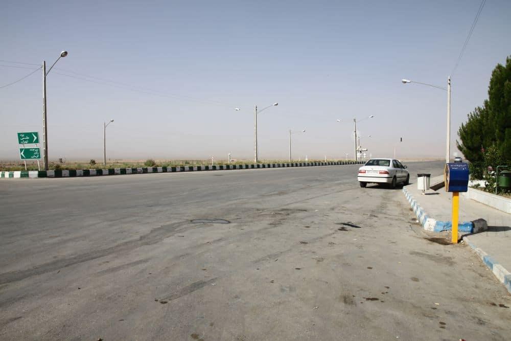 Lokalna droga w Iranie