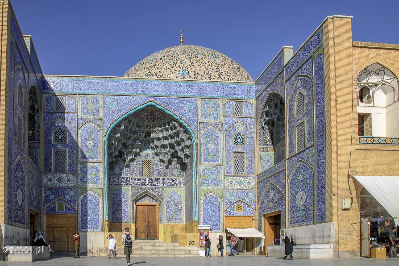 Meczet Sheikh Lotfollah na placu Imama