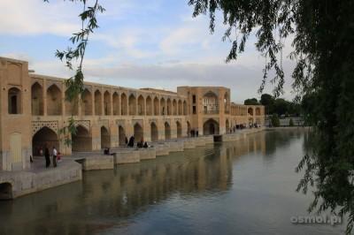 Most Khaju w Esfahan. Jeden z Symboli nie tylko tego miasta, ale także Iranu