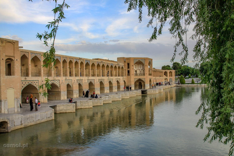 Most Khaju w Isfahanie. Jeden z Symboli nie tylko tego miasta, ale także Iranu