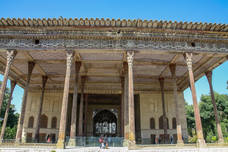 Pałac 40 kolumn w Isfahanie