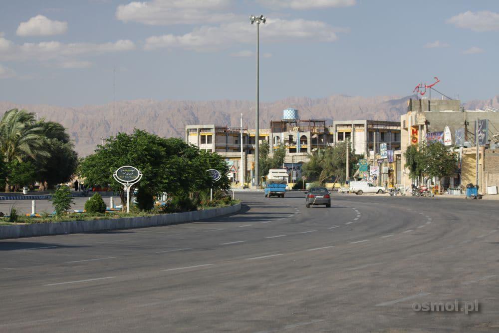 Rondo w Tabas. Iran