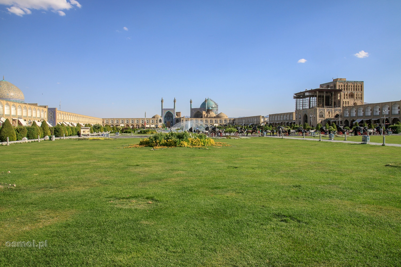 Panorama placu Immama w Isfahanie