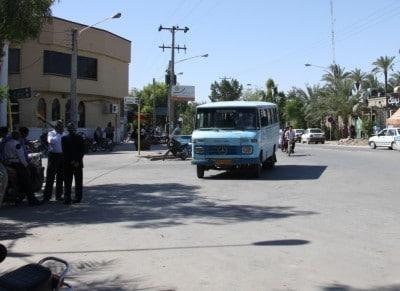 Minibus w Iranie