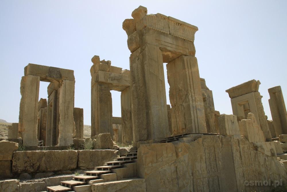 Ruiny Persepolis w Iranie