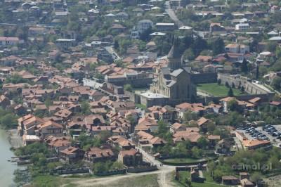 Mccheta panorama miasta