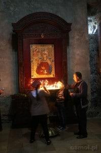 Modlitwa przy ikonie w Sweti Cchoweli