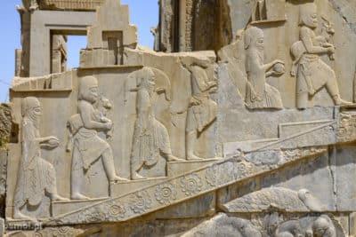 Płaskorzeźby w Persepolis